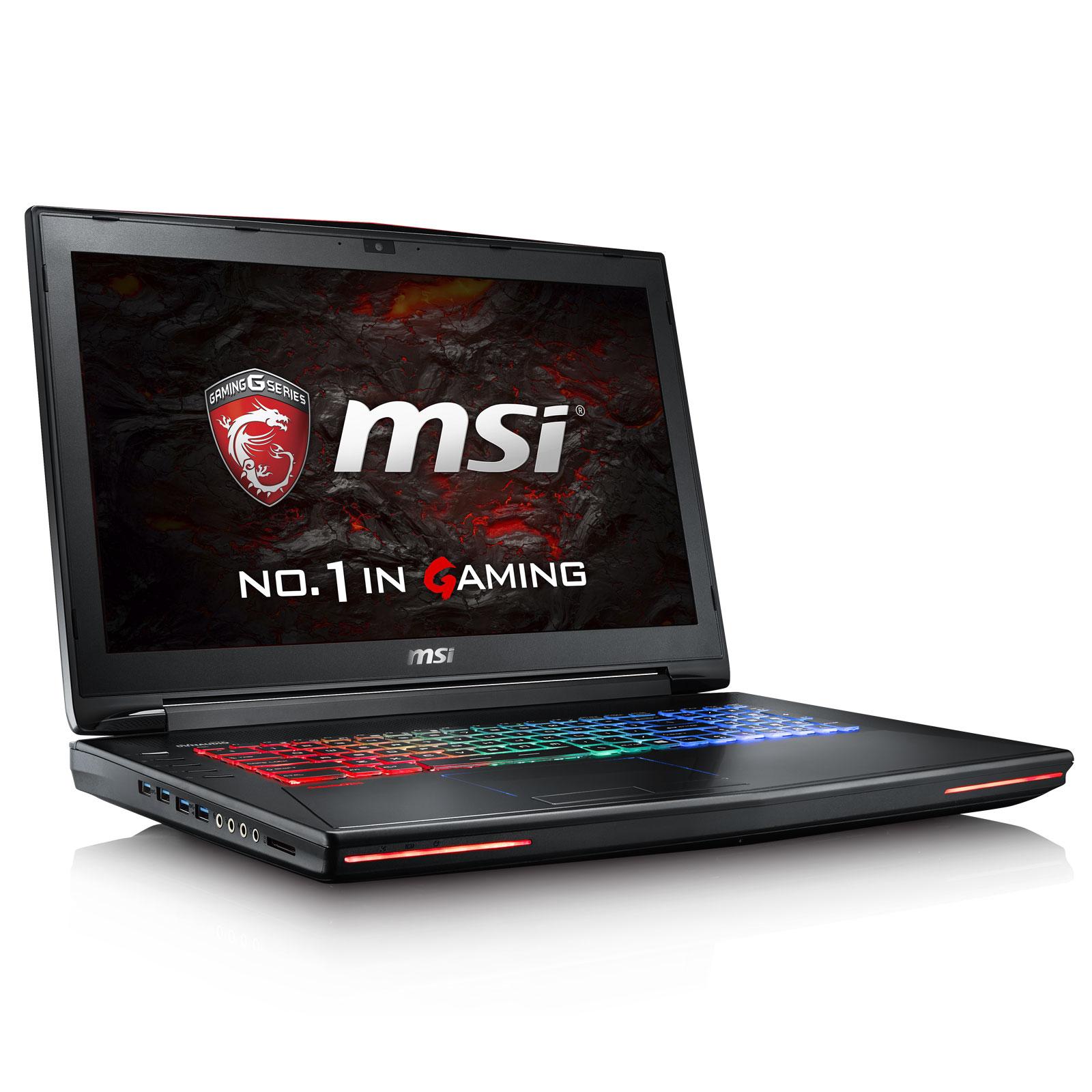 "PC portable MSI GT72VR 6RD-041FR Dominator Pro Intel Core i7-6700HQ 16 Go SSD 128 Go + HDD 1 To 17.3"" LED Full HD G-Sync NVIDIA GeForce GTX 1060 6 Go Graveur DVD Wi-Fi AC/Bluetooth Webcam Windows 10 Famille (garantie constructeur 2 ans)"