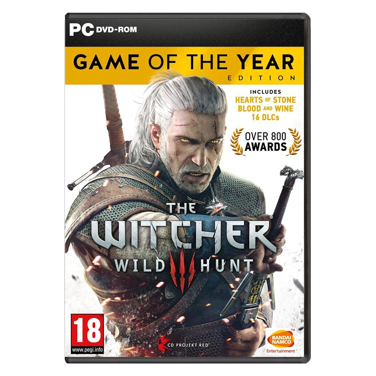 Jeux PC The Witcher III : Wild Hunt - Game Of The Year Edition (PC) The Witcher III : Wild Hunt - Game Of The Year Edition (PC)