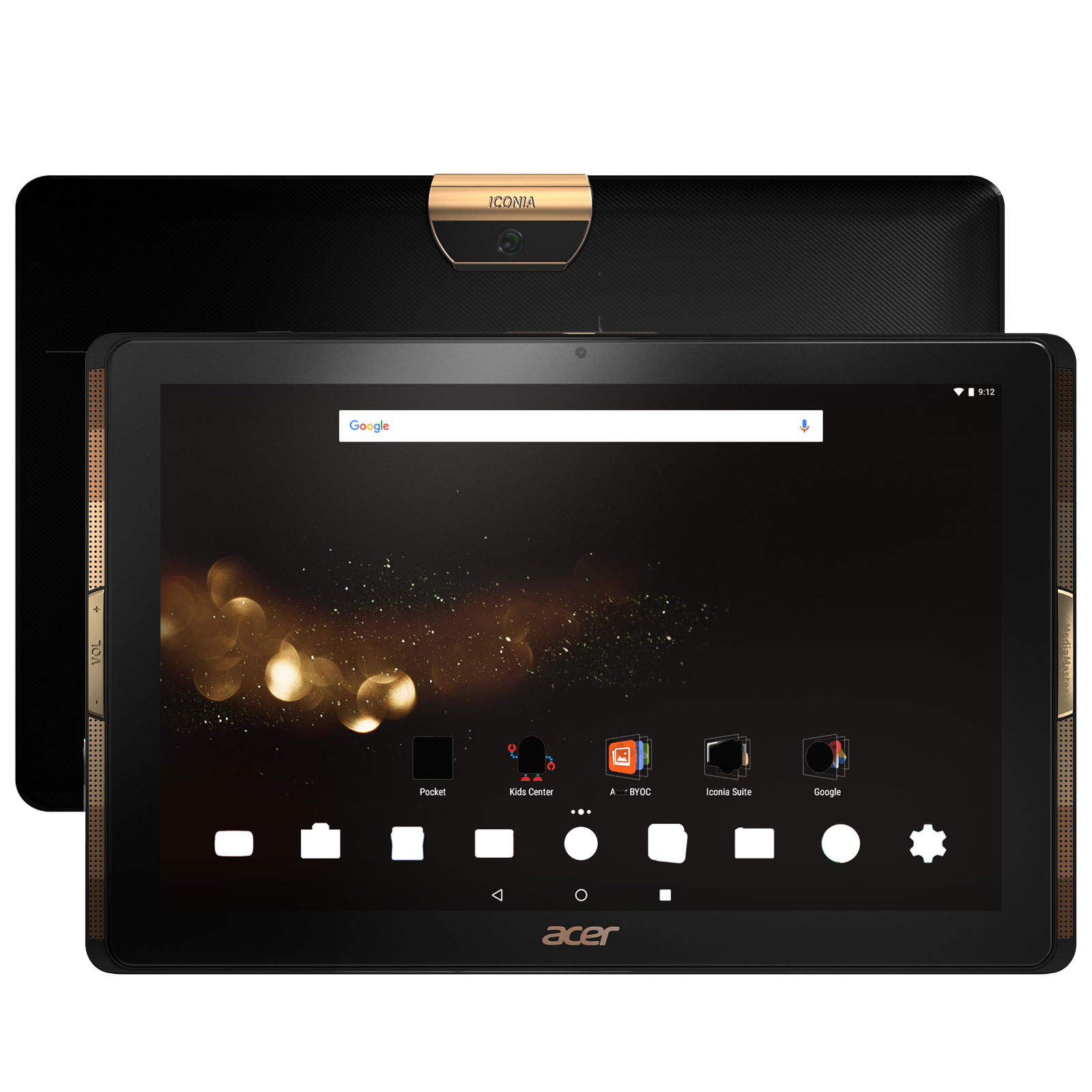 acer iconia tab 10 a3 a40 5bk32 noir nt achat vente tablette tactile sur. Black Bedroom Furniture Sets. Home Design Ideas