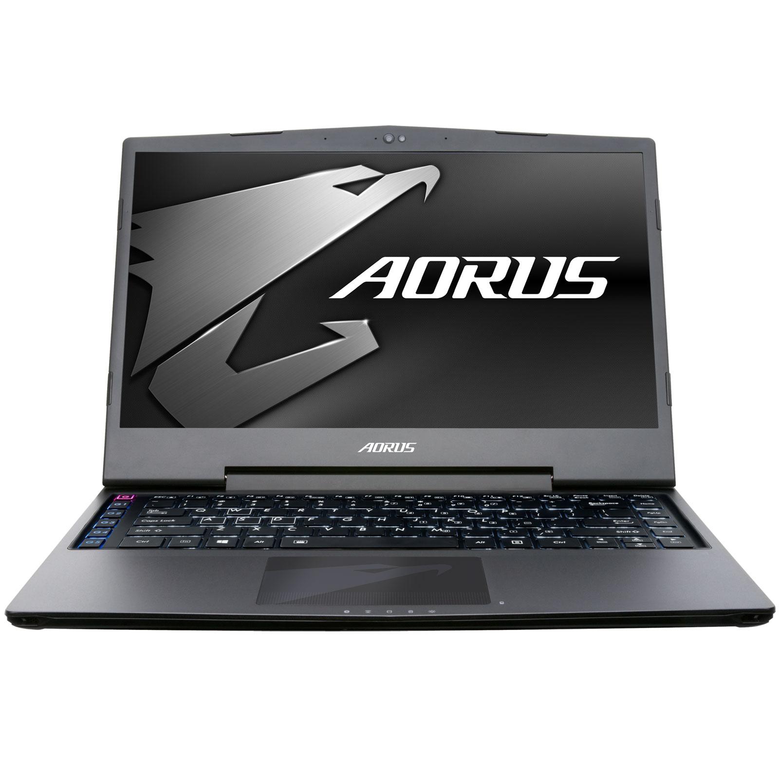 "PC portable AORUS X3 Plus v7 K1NW10-FR Intel Core i7-7820HK 16 Go SSD 512 Go 13.9"" LED QHD+ NVIDIA GeForce GTX 1060 6 Go Wi-Fi AC/Bluetooth Webcam Windows 10 Famille 64 bits"