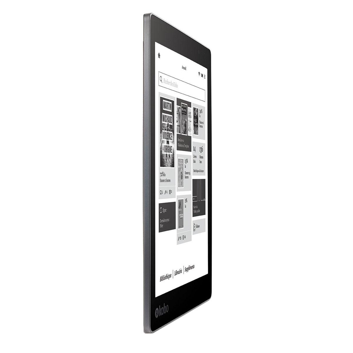 kobo aura one liseuse ebook kobo sur ldlc. Black Bedroom Furniture Sets. Home Design Ideas