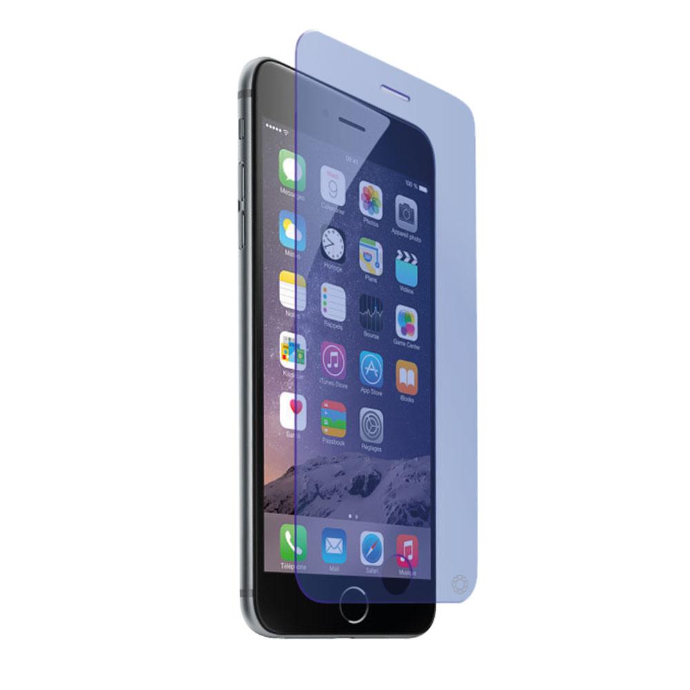 Film protecteur téléphone Force Glass Verre Trempé anti-bleu iPhone 7 Protège-écran en verre trempé anti-lumière bleue pour iPhone 7