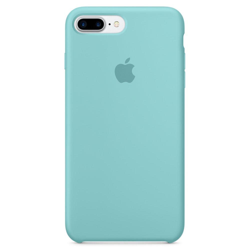 apple coque en silicone bleu m diterran e apple iphone 7 plus etui t l phone apple sur ldlc. Black Bedroom Furniture Sets. Home Design Ideas