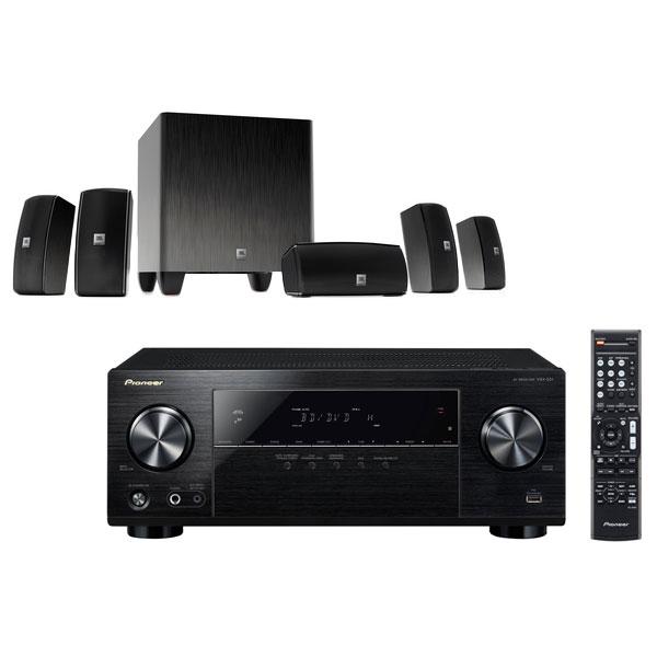 Pioneer vsx 531b jbl cinema 610 ensemble home cin ma for Yamaha ns p20 vs ns p40