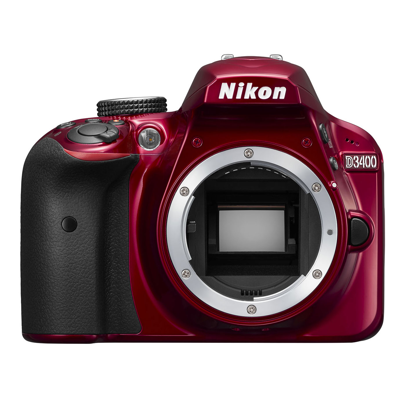 nikon d3400 rouge appareil photo reflex nikon sur ldlc. Black Bedroom Furniture Sets. Home Design Ideas