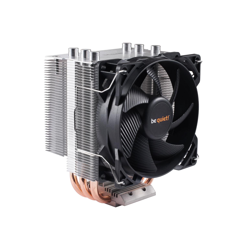 Ventilateur processeur be quiet! Pure Rock Slim Ventilateur de processeur (pour Socket AMD AM2(+)/AM3(+)/AM4/FM1/FM2(+) et INTEL LGA 1150/1151/1155/1156) - Garantie constructeur 3 ans