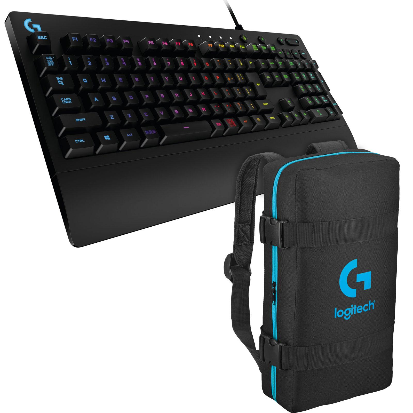 logitech g213 prodigy gaming keyboard esport bag offert achat vente clavier pc sur. Black Bedroom Furniture Sets. Home Design Ideas