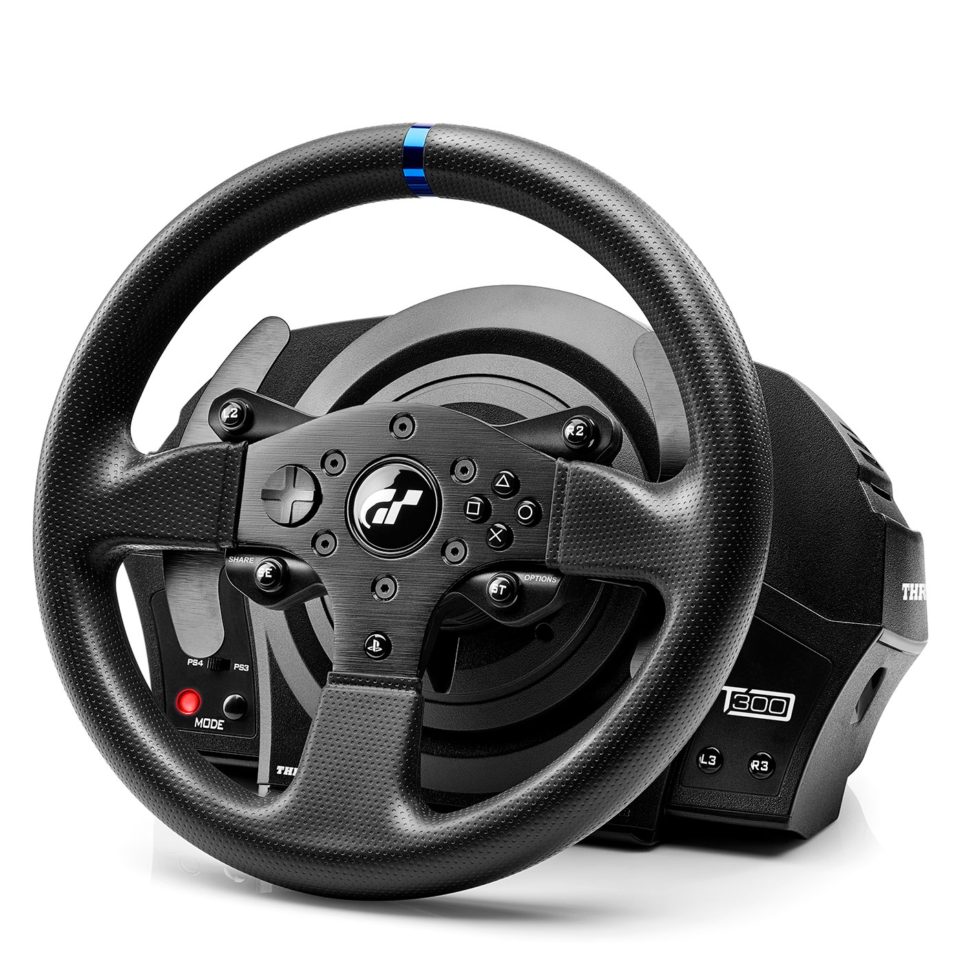 thrustmaster t300 rs gt edition t300rs gt edition volant pc thrustmaster sur ldlc. Black Bedroom Furniture Sets. Home Design Ideas