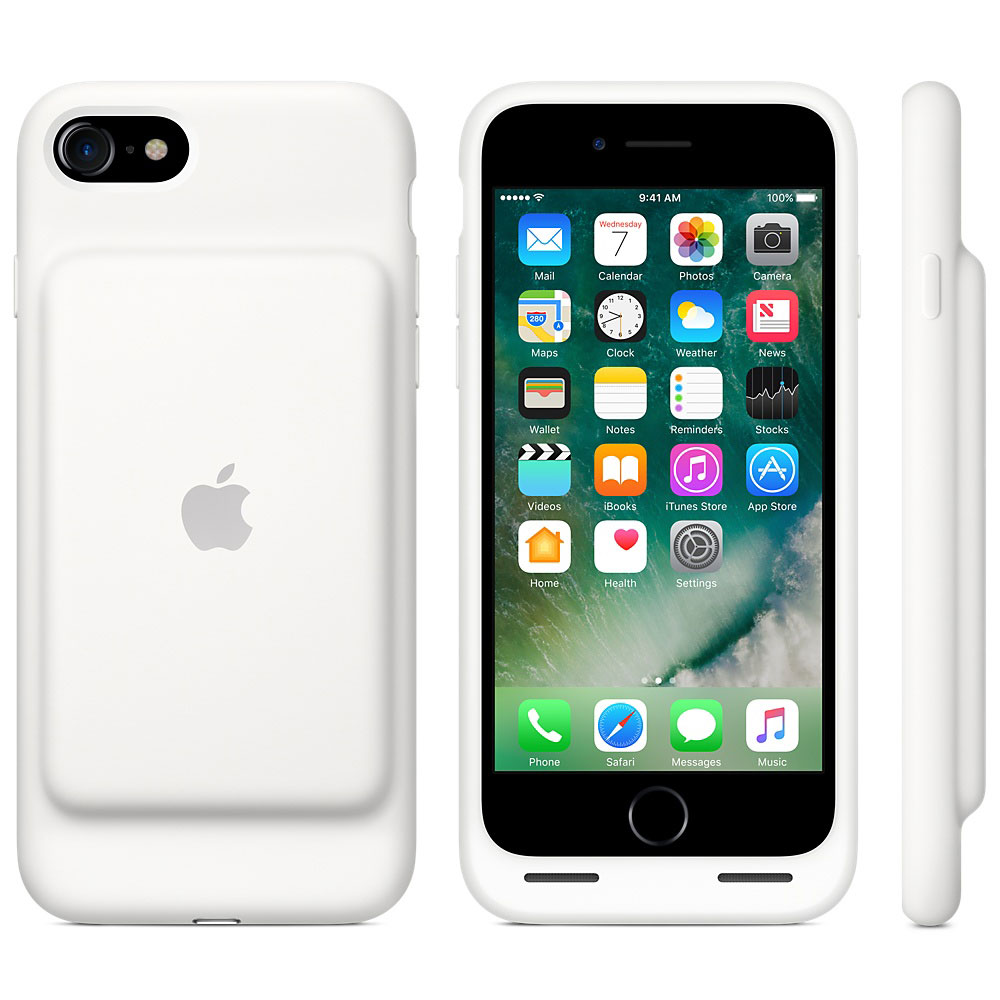 apple smart battery case blanc apple iphone 7 etui t l phone apple sur ldlc. Black Bedroom Furniture Sets. Home Design Ideas