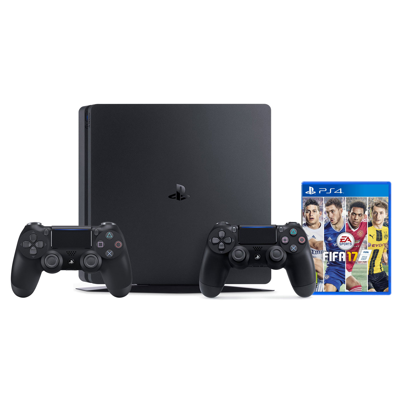 sony playstation 4 slim 500 go dualshock 4 v2 fifa. Black Bedroom Furniture Sets. Home Design Ideas