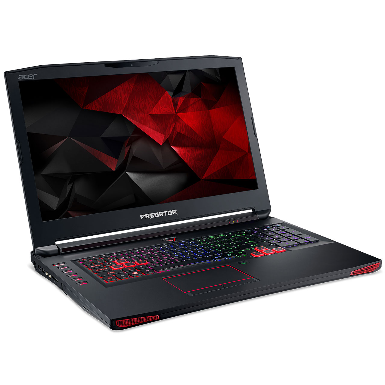 "PC portable Acer Predator 17 G9-793-55ZQ Intel Core i5-6300HQ 8 Go SSD 128 Go + HDD 1 To 17.3"" LED Full HD G-SYNC NVIDIA GeForce GTX 1060 Graveur DVD Wi-Fi AC/Bluetooth Webcam Windows 10 Famille 64 bits"