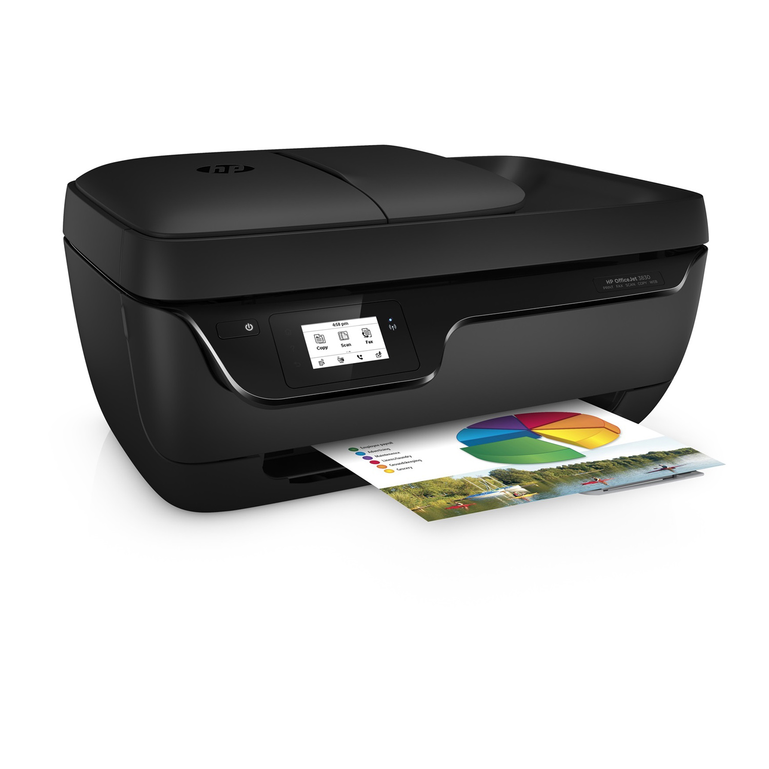 hp officejet 3833 f5s03b baw achat vente imprimante. Black Bedroom Furniture Sets. Home Design Ideas