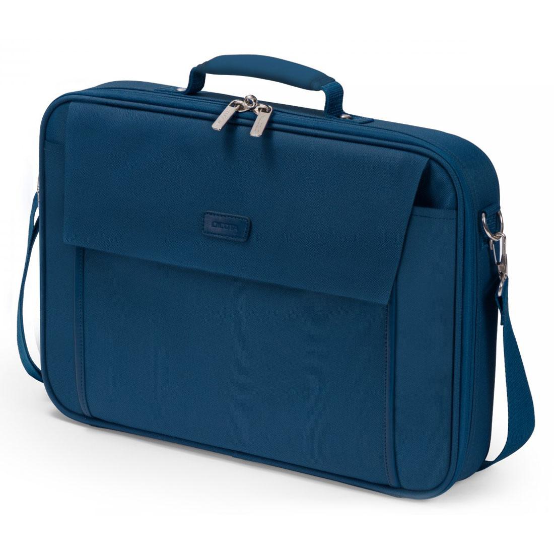 """Sac, sacoche, housse Dicota Multi Base 15-17.3"""" (bleu) Sacoche pour ordinateur portable (jusqu'à 17.3"""")"""