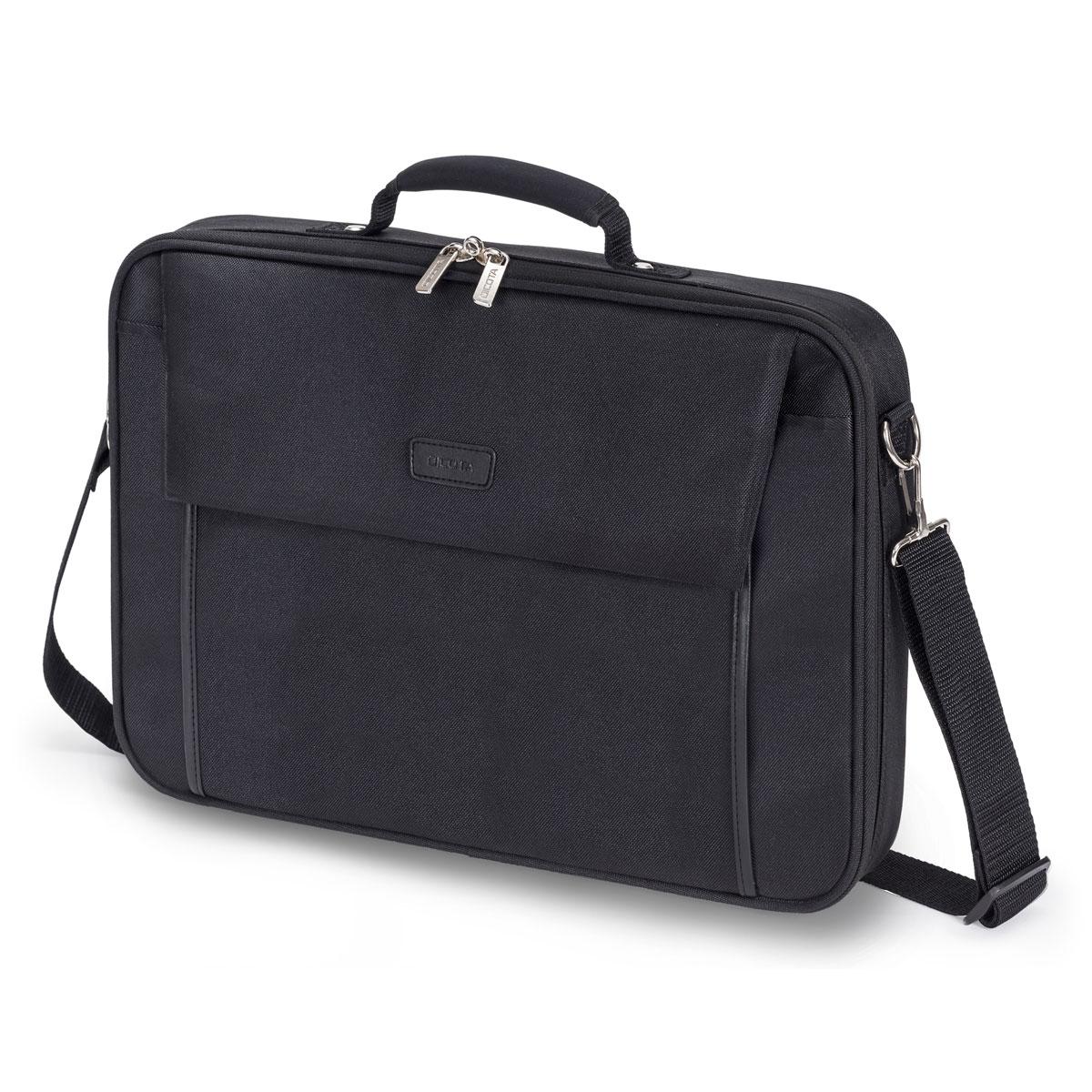 """Sac, sacoche, housse Dicota Multi Base 15-17.3"""" (noir)  Sacoche pour ordinateur portable (jusqu'à 17.3"""")"""