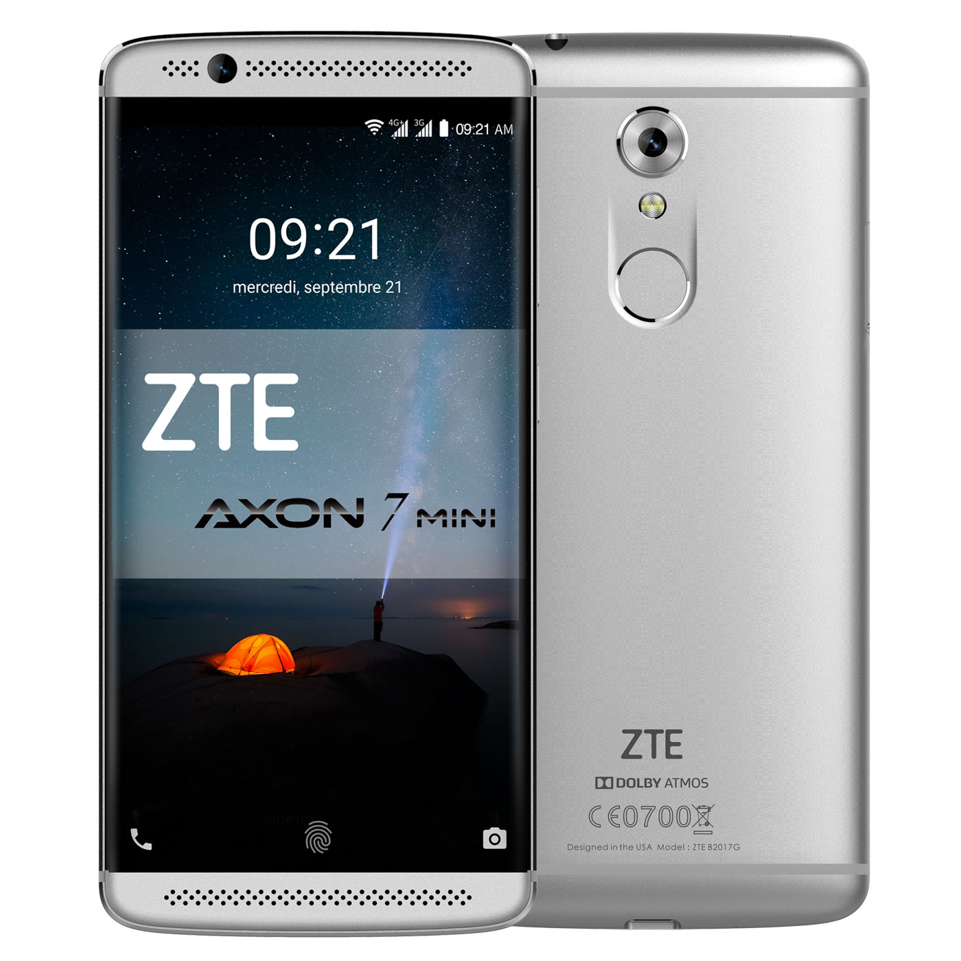 zte axon 7 mini gris axon7minion achat vente mobile smartphone sur. Black Bedroom Furniture Sets. Home Design Ideas
