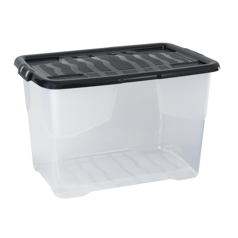 Cep strata curve box 65 litres bo te de rangement cep sur ldlc for Boire de rangement avec couvercle versailles