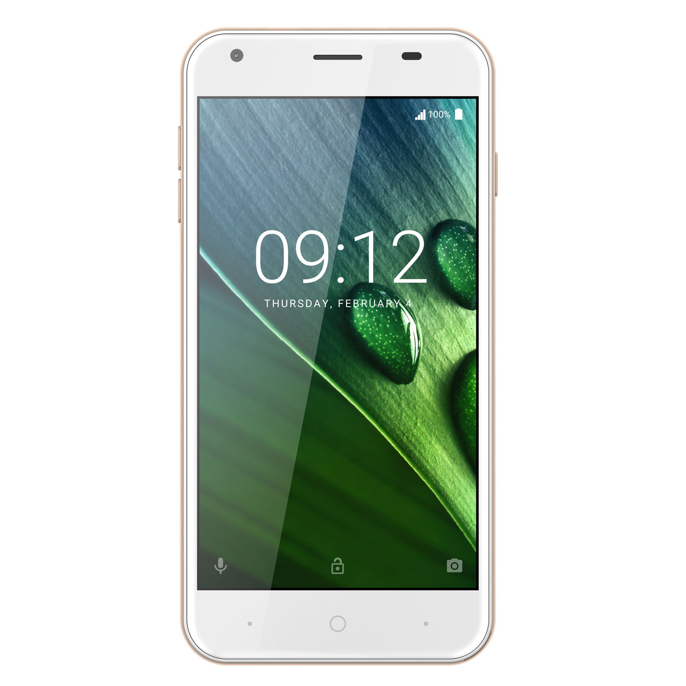 "Mobile & smartphone Acer Liquid Z6 Or Smartphone 4G-LTE Dual SIM - MediaTek MT6737 Quad-Core 1.3 GHz - RAM 1 Go - Ecran tactile 5"" 720 x 1280 - 8 Go - Bluetooth 4.0 - 2000 mAh - Android 6.0"