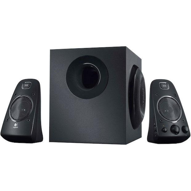 Enceinte PC Logitech Speaker System Z623 Ensemble 2.1 THX 200 Watts compatible PS2 / PS3 / Xbox 360 / Wii