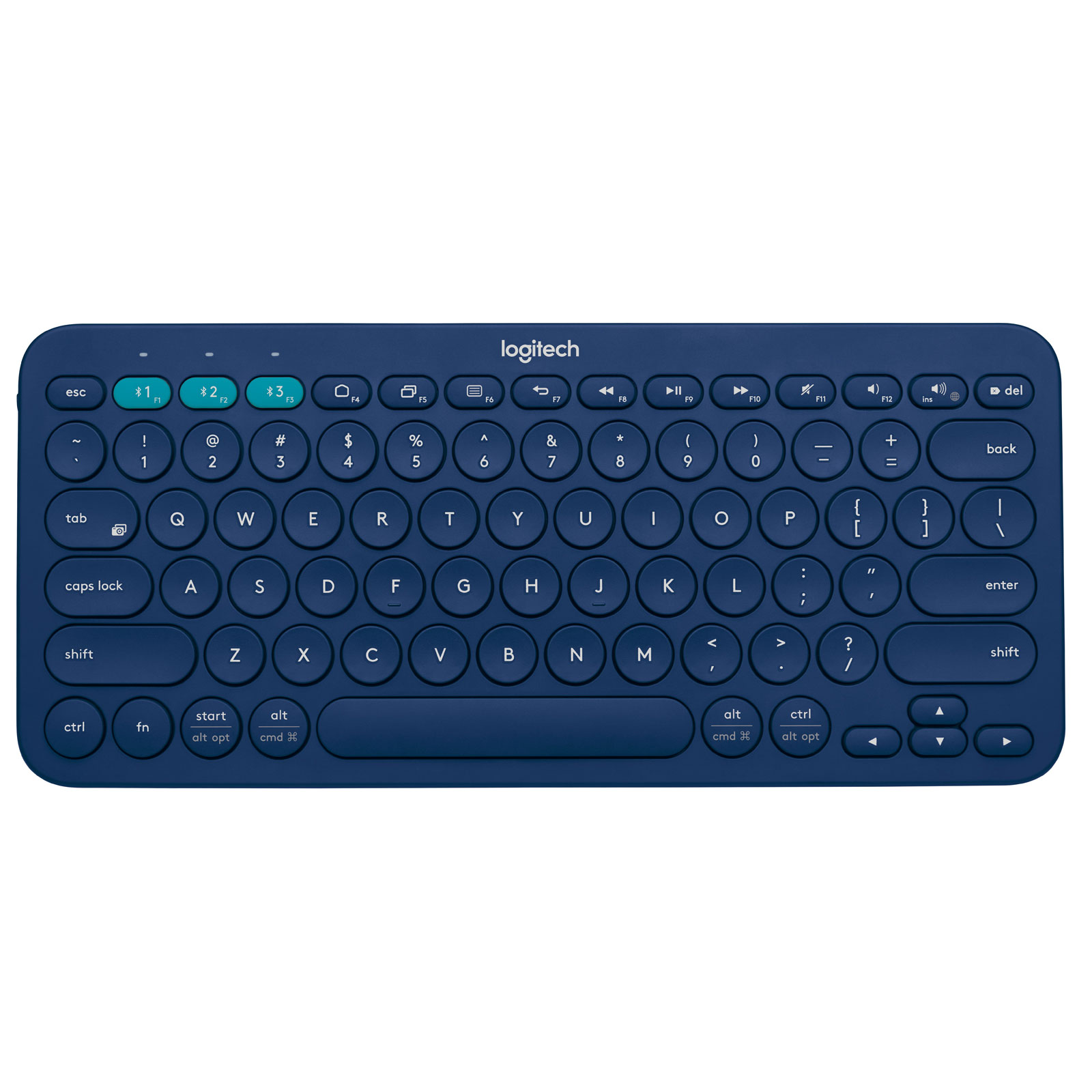logitech multi device keyboard k380 bleu accessoires tablette logitech sur ldlc. Black Bedroom Furniture Sets. Home Design Ideas