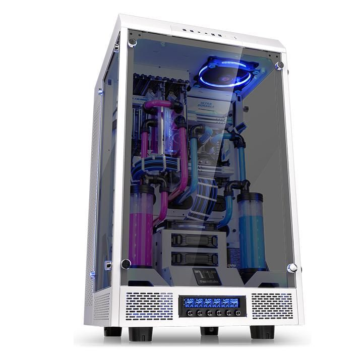 thermaltake the tower 900 snow edition bo tier pc thermaltake sur ldlc. Black Bedroom Furniture Sets. Home Design Ideas