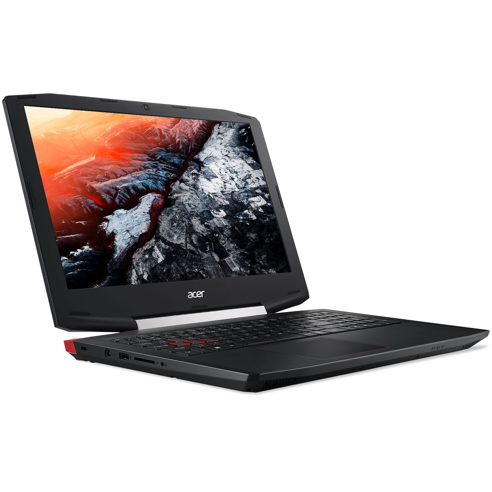 "PC portable Acer Aspire VX15 VX5-591G-763C Intel Core i7-7700HQ 16 Go SSD 256 Go + HDD 1 To 15.6"" LED Full HD NVIDIA GeForce GTX 1050 Ti 4 Go Wi-Fi AC/Bluetooth Webcam Windows 10 Famille 64 bits"