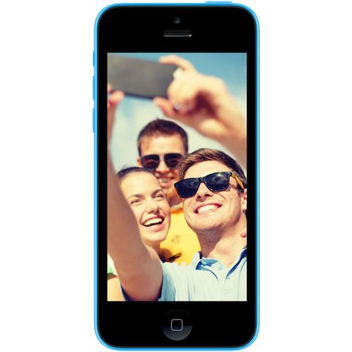 "Mobile & smartphone Again iPhone 5C 16 Go Bleu Smartphone 4G-LTE avec écran Retina 4"" sous iOS 7 - Reconditionné ECO+"