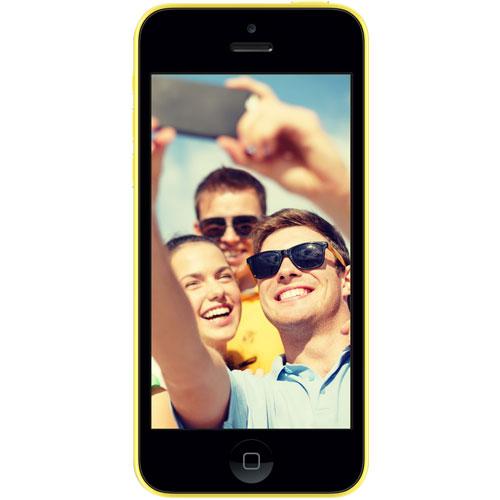 "Mobile & smartphone Again iPhone 5C 16 Go Jaune Smartphone 4G-LTE avec écran Retina 4"" sous iOS 7 - Reconditionné ECO+"
