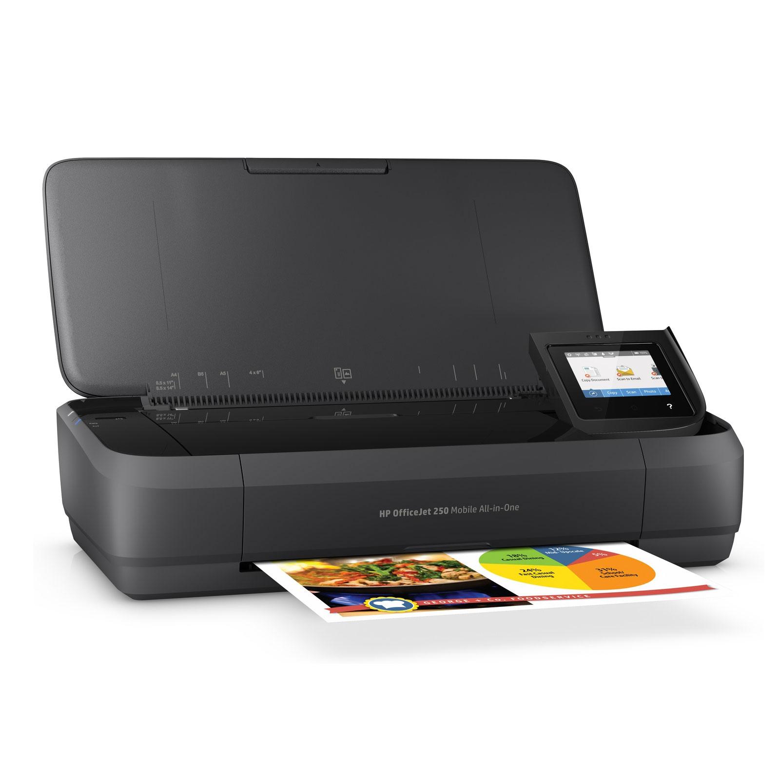 hp officejet 250 mobile imprimante multifonction hp sur ldlc. Black Bedroom Furniture Sets. Home Design Ideas