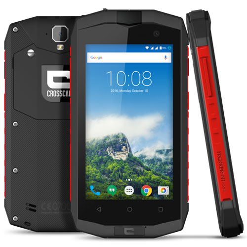 Crosscall Trekker-M1 Core Anthracite/Rouge - Mobile ...