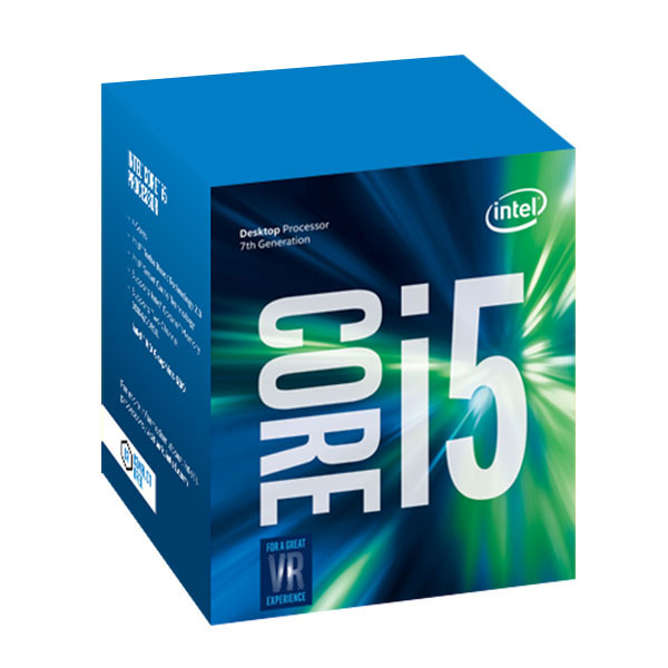 Processeur Intel Core i5-7500 (3.4 GHz) Processeur Quad Core Socket 1151 Cache L3 6 Mo Intel HD Graphics 630 0.014 micron (version boîte - garantie Intel 3 ans)