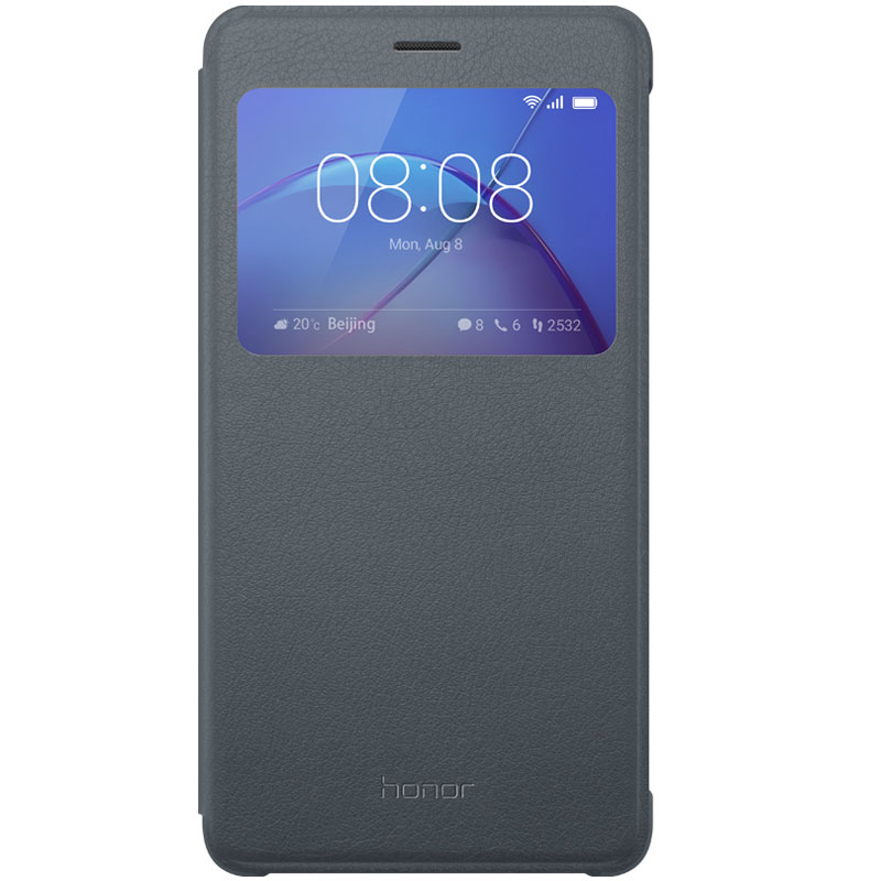 honor flip cover gris honor 6x etui t l phone honor sur ldlc
