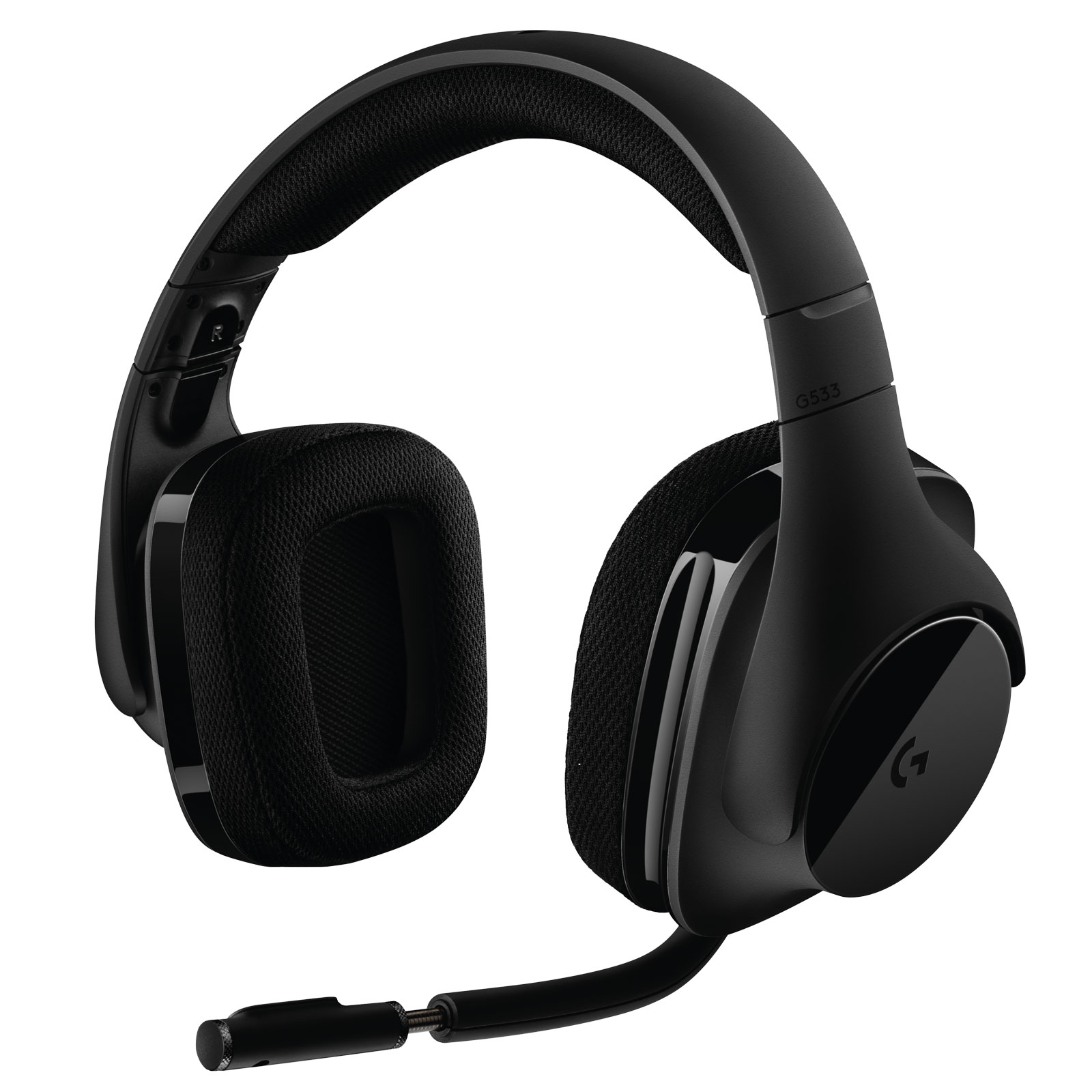 logitech g533 prodigy wireless gaming headset 981 000634. Black Bedroom Furniture Sets. Home Design Ideas