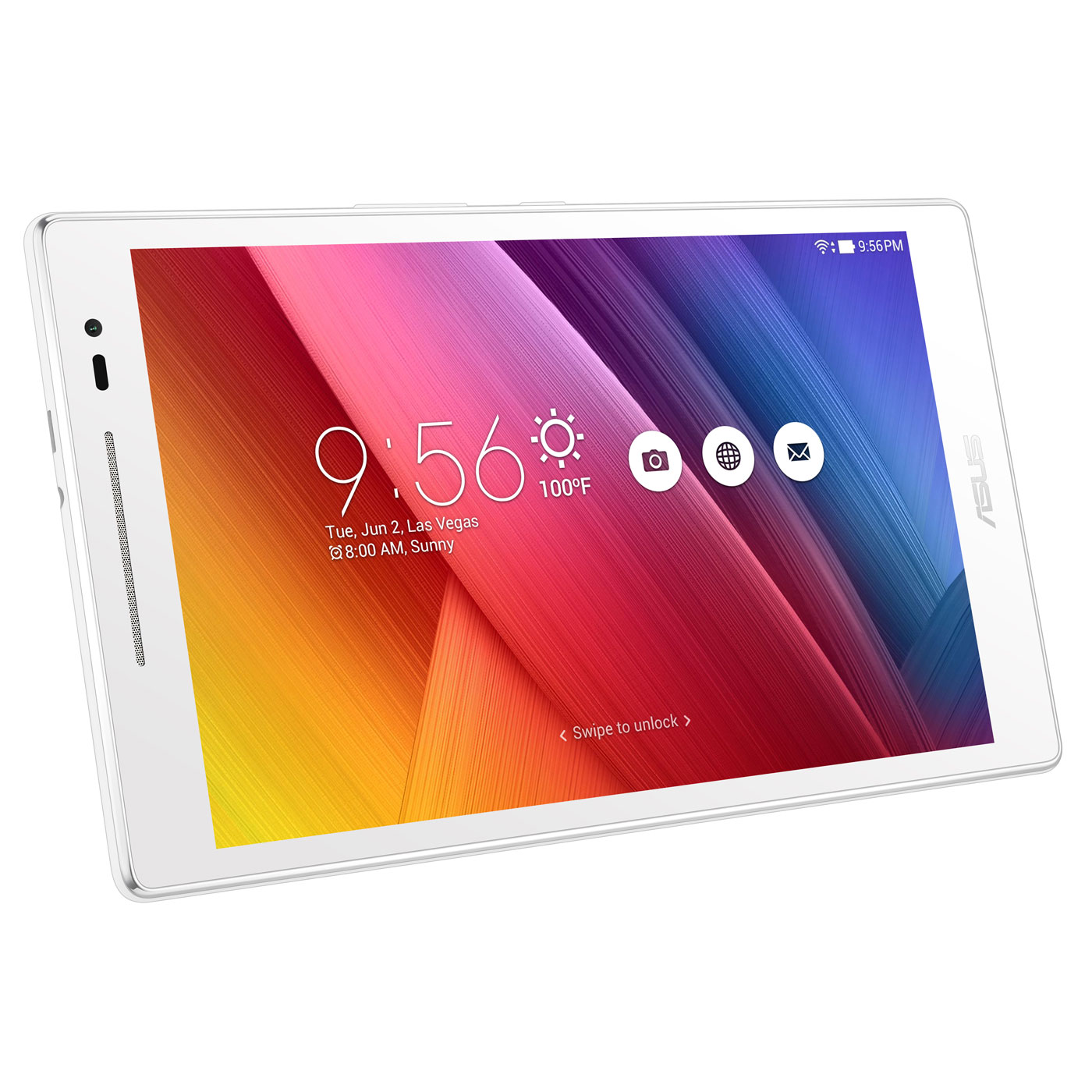 asus zenpad 8 0 z380m 6b021a blanc tablette tactile asus sur ldlc. Black Bedroom Furniture Sets. Home Design Ideas