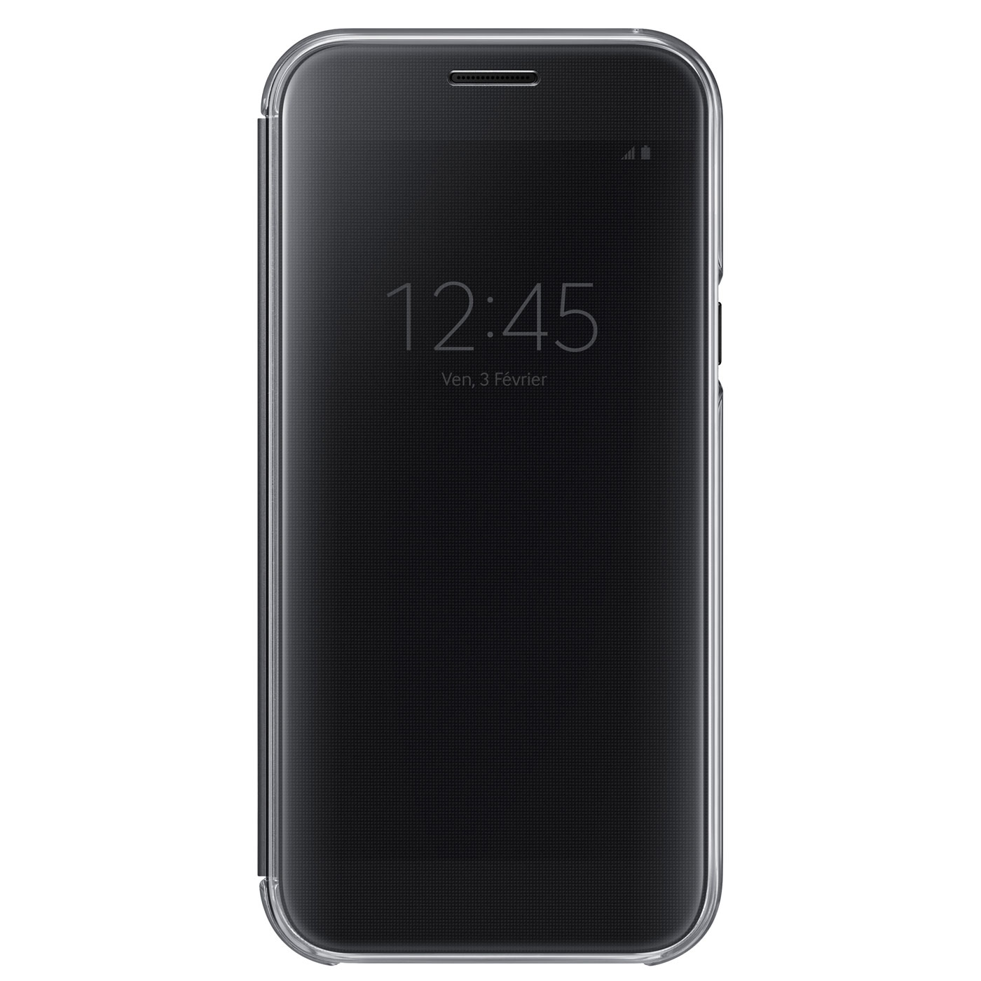 samsung clear view cover noir samsung galaxy a5 2017. Black Bedroom Furniture Sets. Home Design Ideas