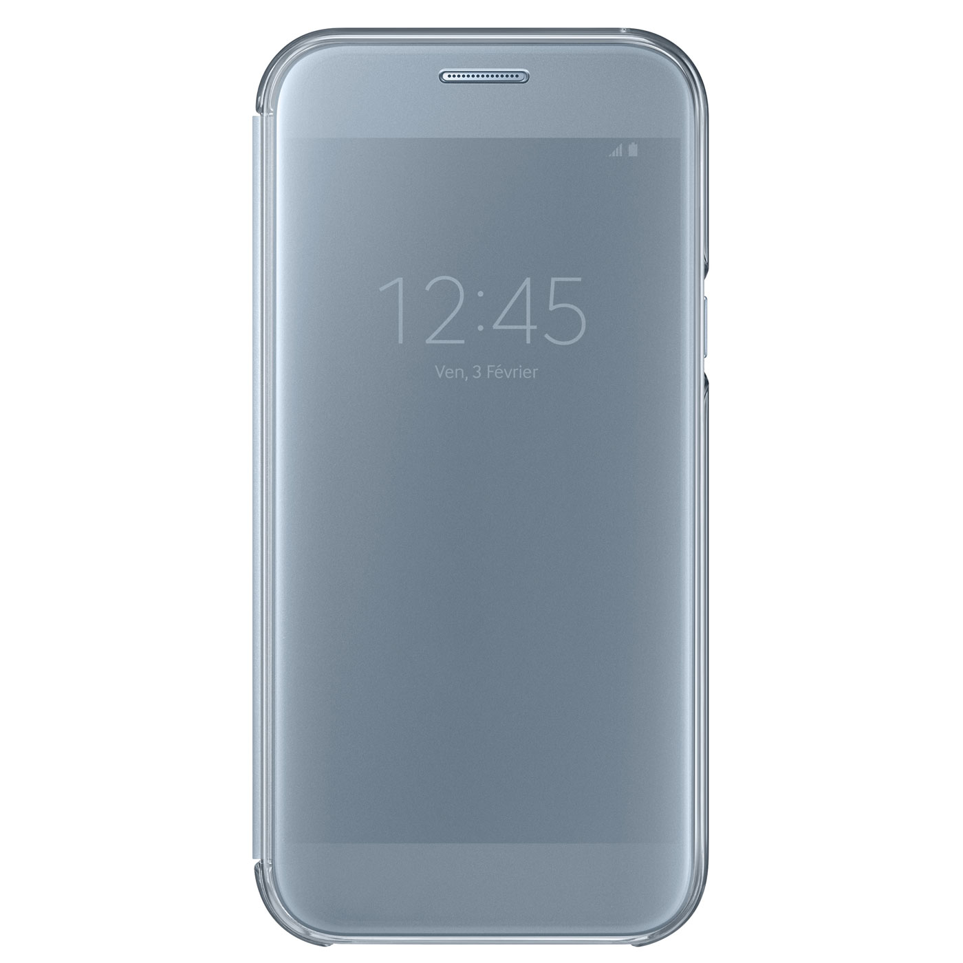 Samsung clear view cover bleu samsung galaxy a5 2017 for Housse samsung a5 2017