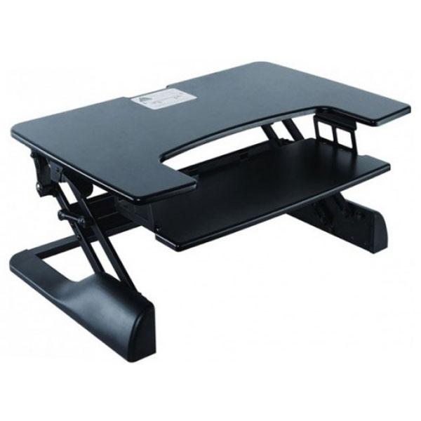 poste de travail assis debout meuble ordinateur g n rique sur ldlc. Black Bedroom Furniture Sets. Home Design Ideas
