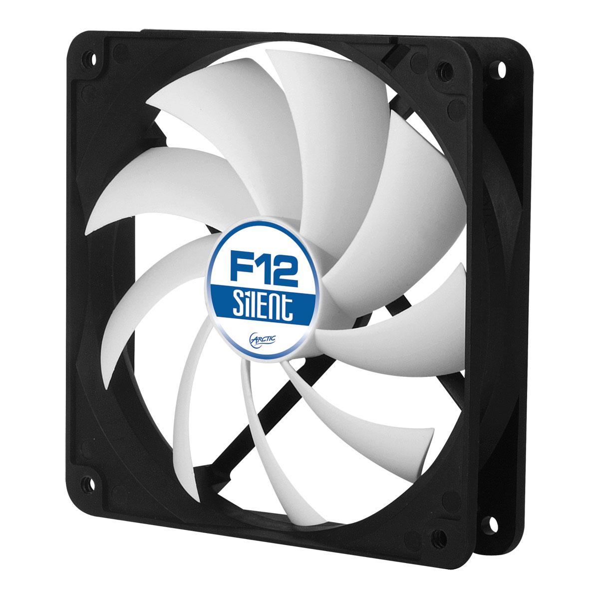 Ventilateur boîtier Arctic F12 Silent Ventilateur de boîtier 120 mm silencieux