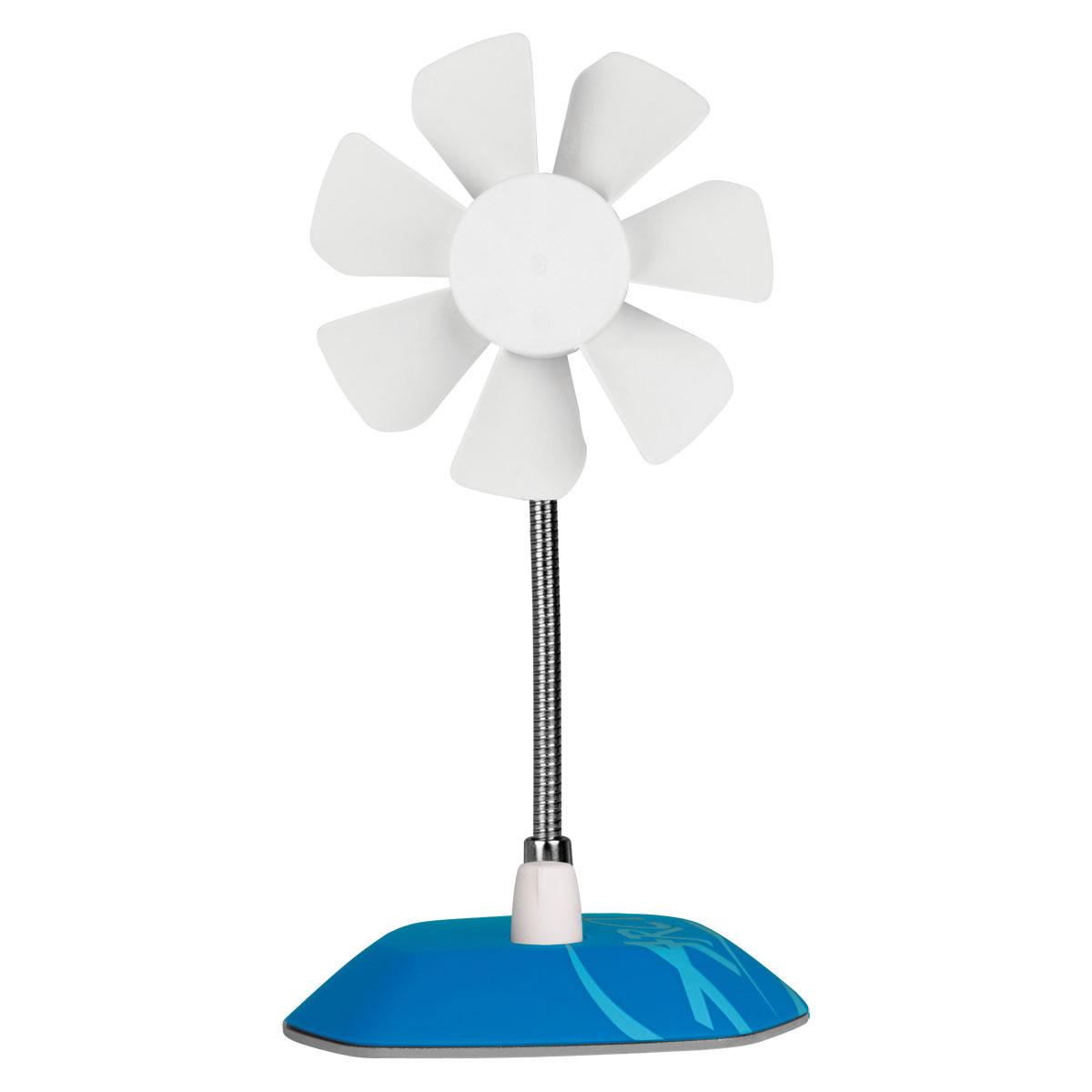 Arctic breeze bleu abaco brzbl01 bl achat vente informatique sur ldlc - Ventilateur de bureau usb ...