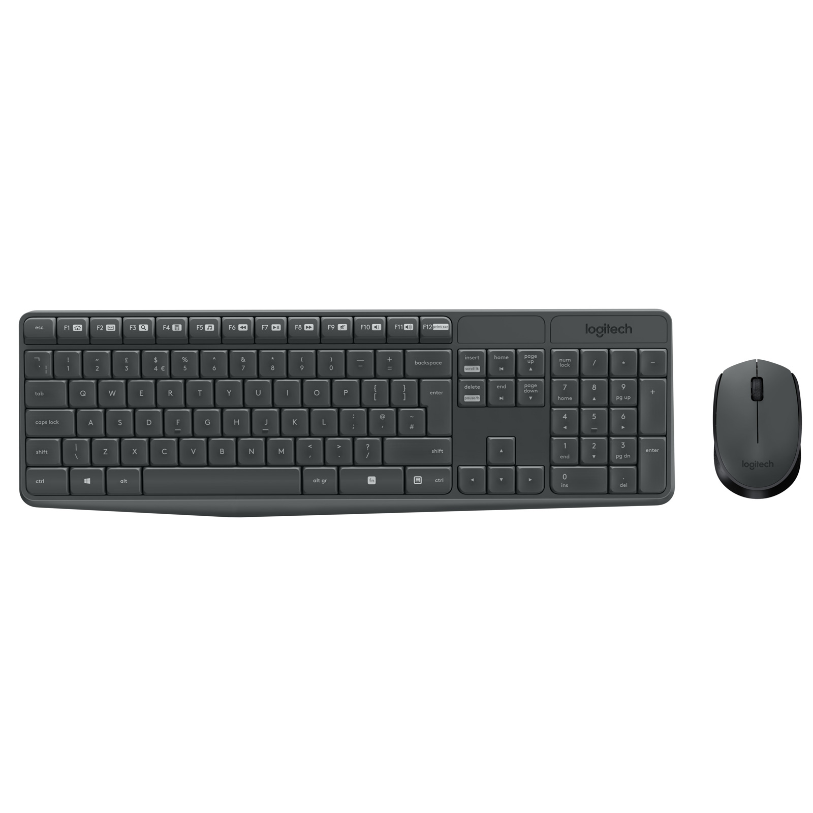 logitech wireless combo mk235 pack clavier souris. Black Bedroom Furniture Sets. Home Design Ideas