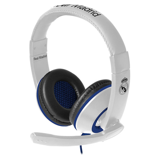 subsonic casque gaming real madrid accessoires ps4 subsonic sur ldlc. Black Bedroom Furniture Sets. Home Design Ideas