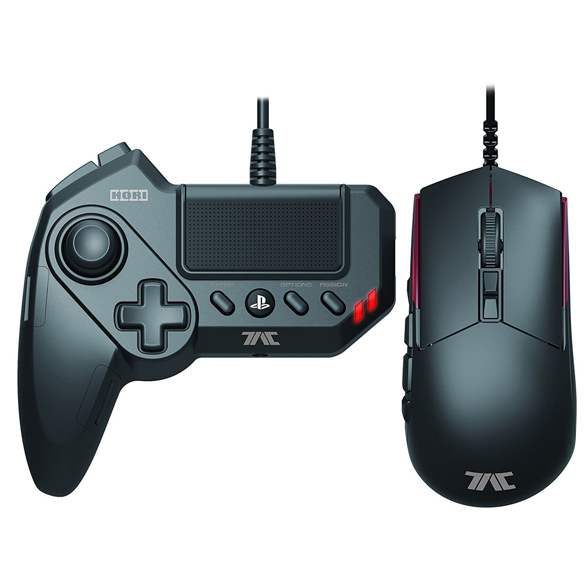 Accessoires PS4 Hori Tactical Assault Commander Grip (PS3/PS4) Manette + souris optique pour PS3 et PS4