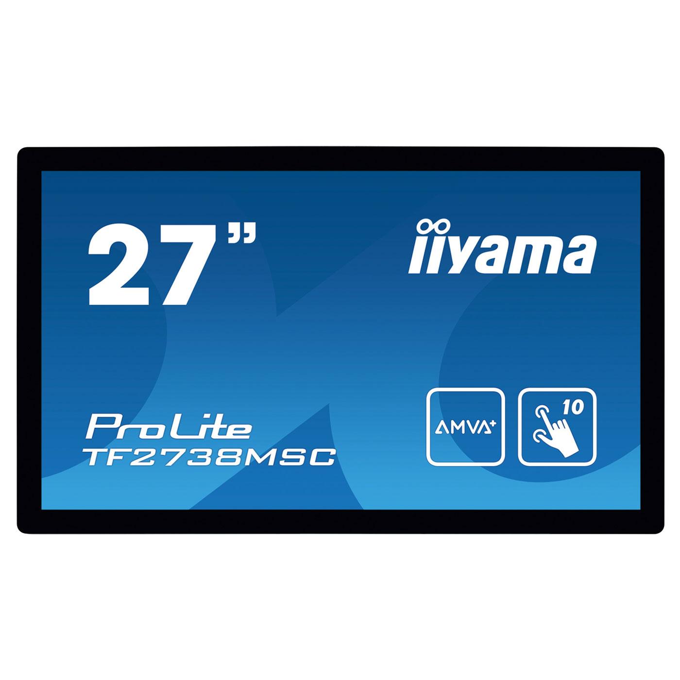 iiyama 27 led tactile prolite tf2738msc b1 tf2738msc. Black Bedroom Furniture Sets. Home Design Ideas
