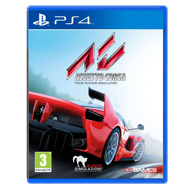 Jeux PS4 Assetto Corsa (PS4) Assetto Corsa (PS4)