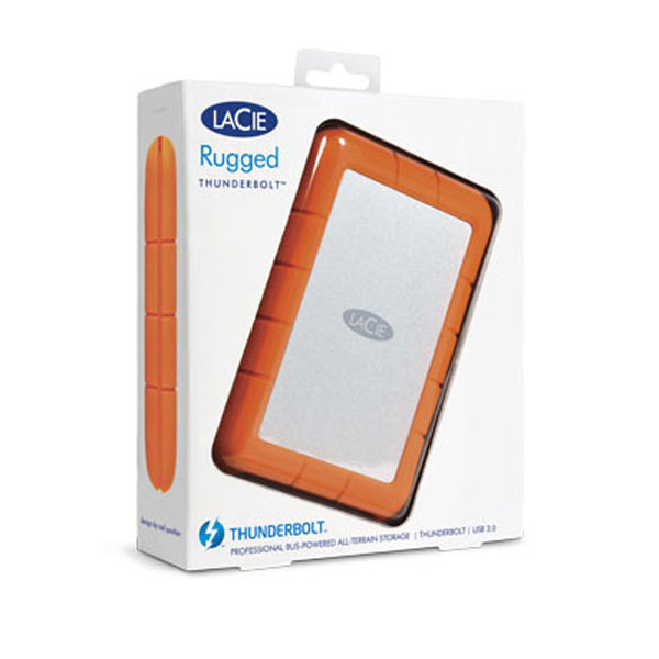 lacie rugged thunderbolt ssd 1 to disque dur externe. Black Bedroom Furniture Sets. Home Design Ideas