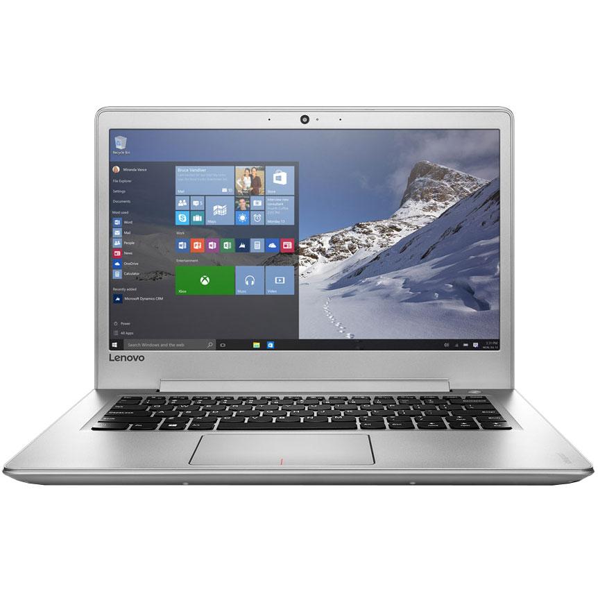 "PC portable Lenovo Ideapad 510s (80V0003XFR)  Intel Core i5-7200U 8 Go SSD 256 Go 13.3"" LED Full HD Wi-Fi AC/Bluetooth Webcam Windows 10 Famille 64 bits"