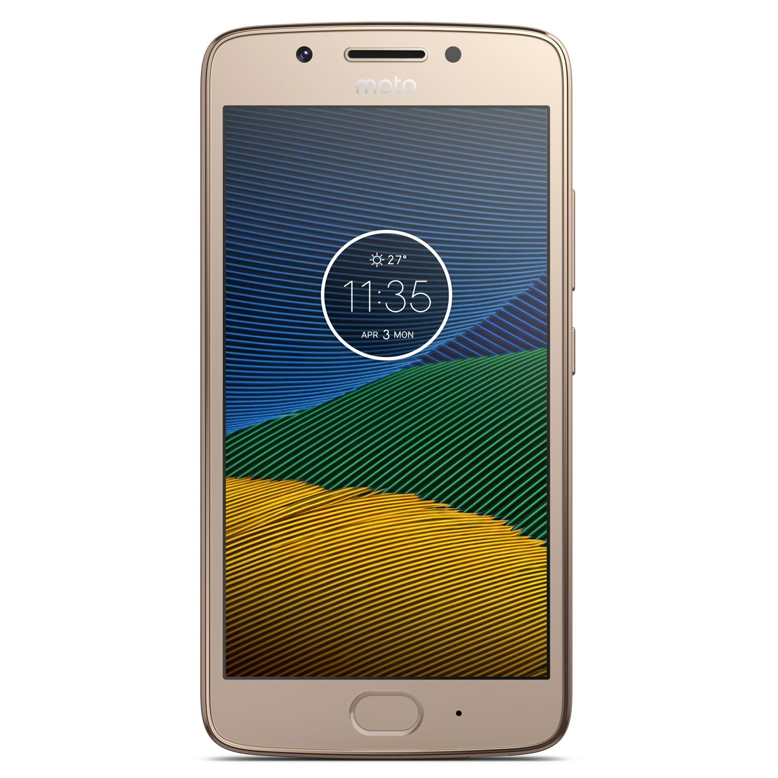 Motorola moto g5 16 go or mobile smartphone motorola for Photo ecran motorola