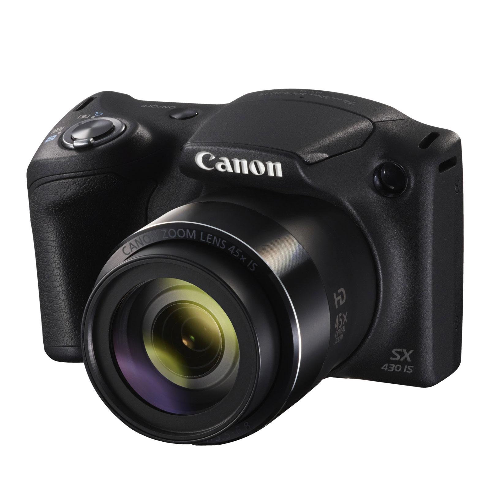 canon powershot sx430 is noir appareil photo num rique canon sur ldlc. Black Bedroom Furniture Sets. Home Design Ideas