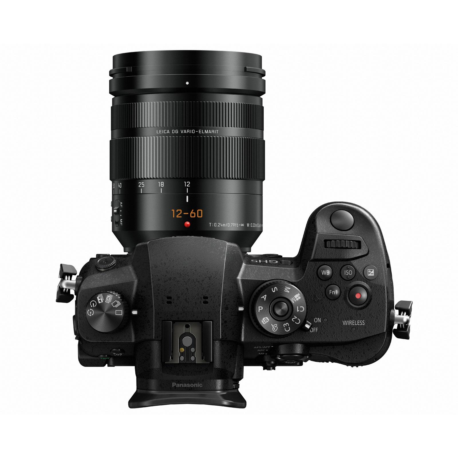 panasonic dmc gh5 leica 12 60 mm appareil photo. Black Bedroom Furniture Sets. Home Design Ideas