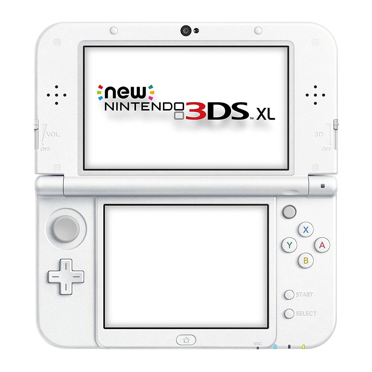 Nintendo new 3ds xl blanc console nintendo 3ds nintendo sur ldlc - Console de jeux portable tactile ...