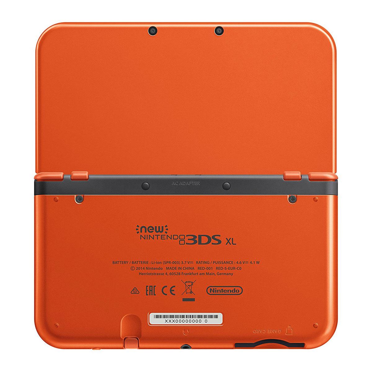 nintendo new 3ds xl orange 2208532 achat vente console nintendo 3ds sur. Black Bedroom Furniture Sets. Home Design Ideas